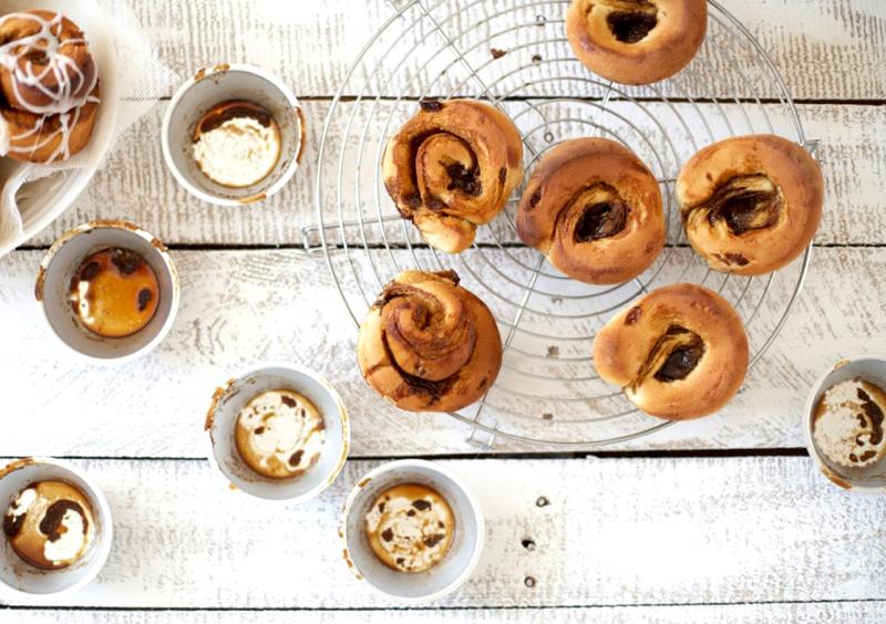 Zimtschnecken von Cynthia Barcomi #rezept