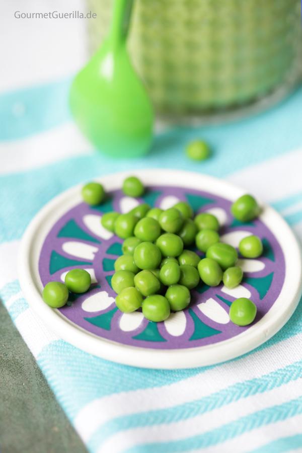 Grüne Erbsen #gourmetguerilla