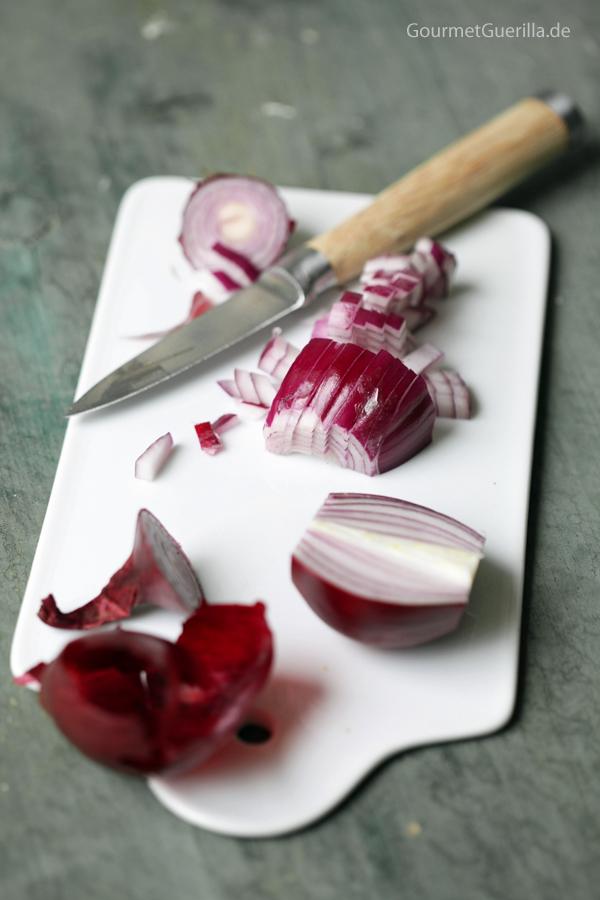 Rote Zwiebeln #gourmetguerilla