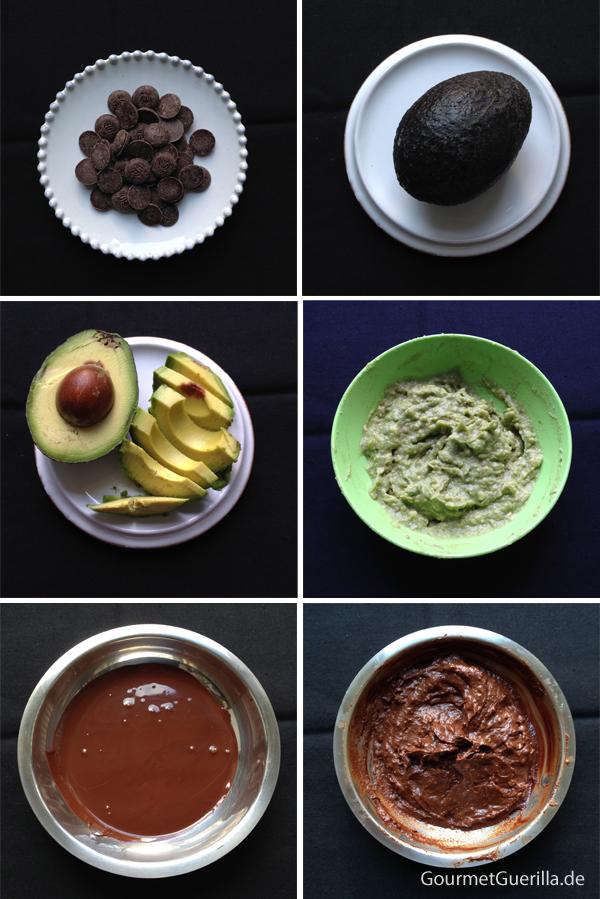 Schokoladen-Avokado-Trüffel Anleitung #rezept #vegan #gourmetguerilla #healthy