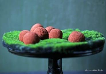 Schokoladen-Avokado-Trüffel #rezept #vegan #gourmetguerilla #healthy