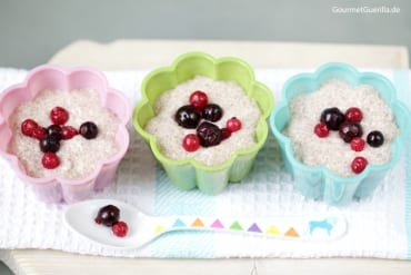 Vegan & Low Carb: Chia-Pudding mt Kokos und Mandel  GourmetGuerilla