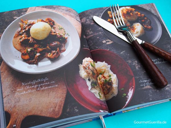 Deutschland vegetarisch Kochbuch Klöße #gourmetguerilla #kochbuchbesprechunge