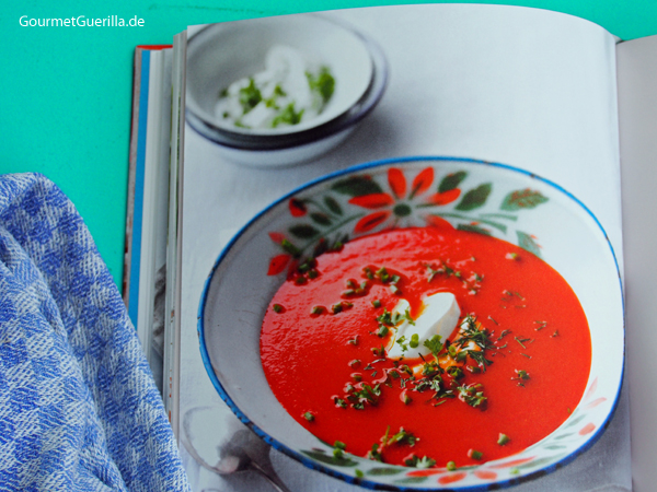Deutschland vegetarisch Tomatensuppe #gourmetguerilla #kochbuchbesprechung
