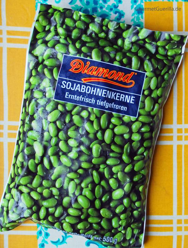 Veganer Edamame-Dip mit Bananenchips |GourmetGuerilla.de