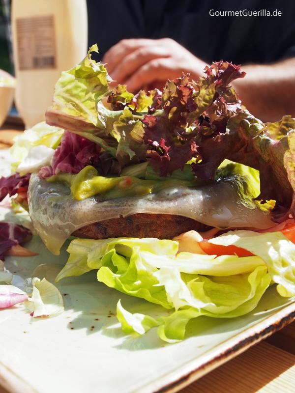 Hans im Glück Hamburg Brotloser Burger