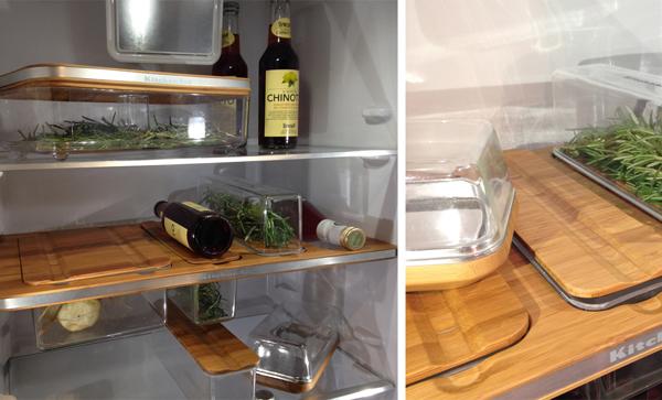 KitchenAid Eurocucina Mailand Kühlschränke