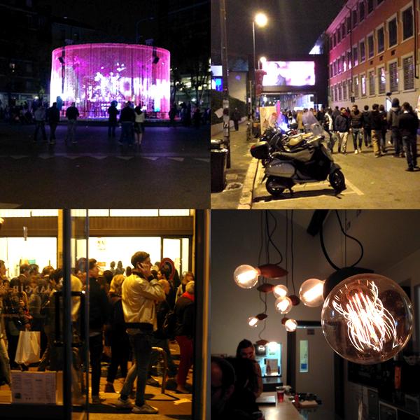 Kitchen Aid Milano bei Nacht