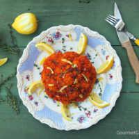 Harissa Blumenkohl #rezept #gourmetguerilla #vegan