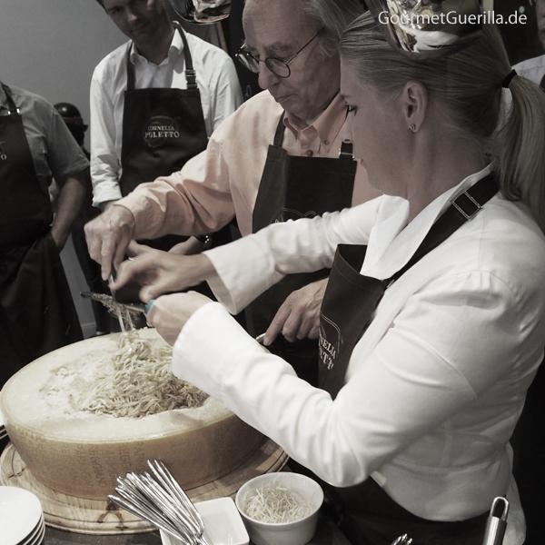 Cornelia Poletto Trüffel-Pasta #gourmetguerilla #parmigianoreggiano #cucinapoletto