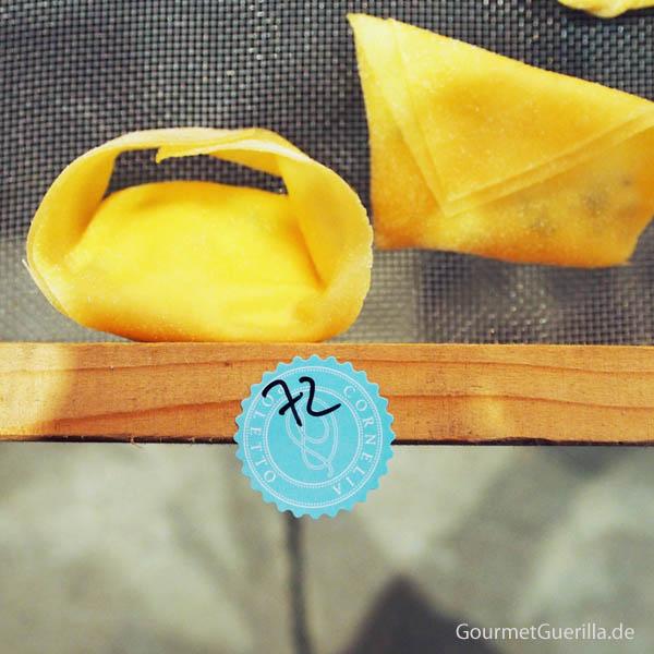 Ravioli mit 72 Monate altem Parmesan von Cornelia Poletto #gourmetguerilla #cucinapoletto #parmigianoreggiano