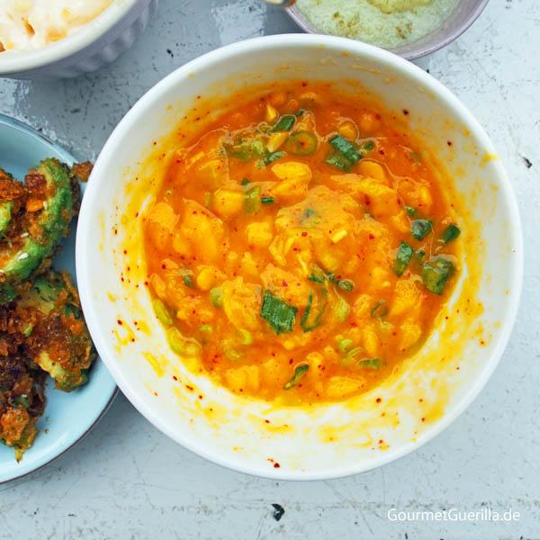 Rezept Gewürze Mango-Dipp Australien Barbecue #gourmetguerilla #grillen #gewürze #rezepte