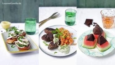 Sommer- Menü: Drei einfache und köstliche Gänge, mit denen ihr im Sommer punkten könnt |GourmetGuerilla.de