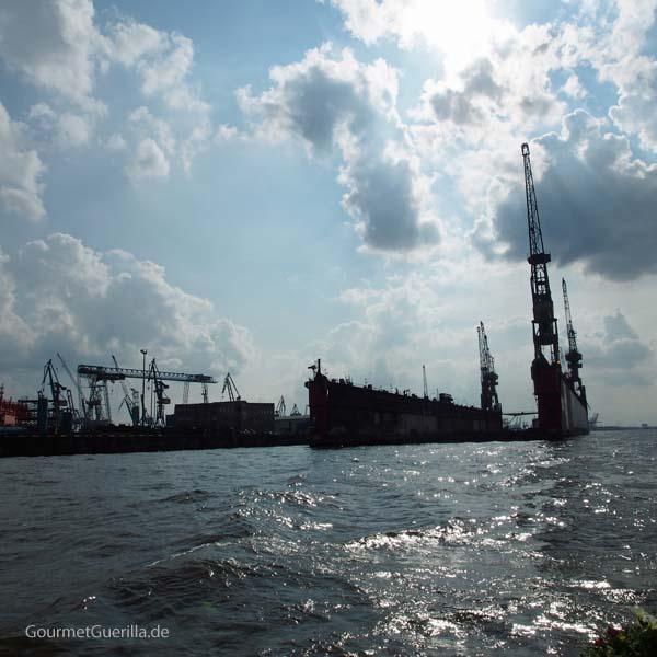 Frau Hedi Hafenrundfahrt Hamburg Tipps Hafen #gourmetguerilla