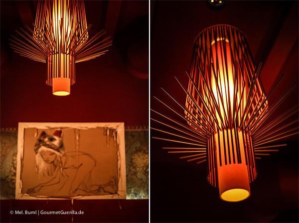 Restaurantbesuch bei Tim Mälzers Off Club –Chinesische Lampe |GourmetGuerilla.de