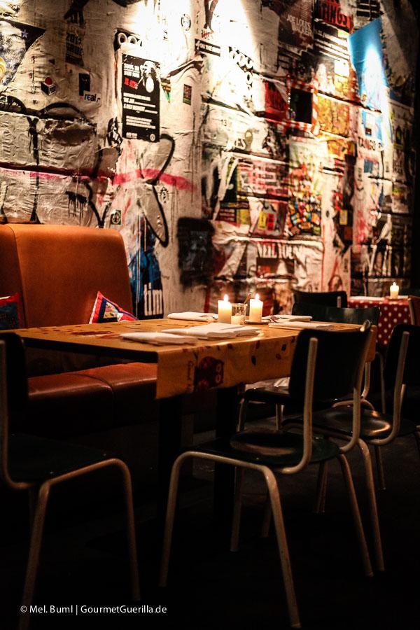 Restaurantbesuch bei Tim Mälzers Off Club –Gastraum |GourmetGuerilla.de