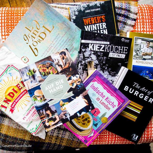 GourmetGuerilla Last minute Geschenke Kulinarische Bücher zu Weihnachten