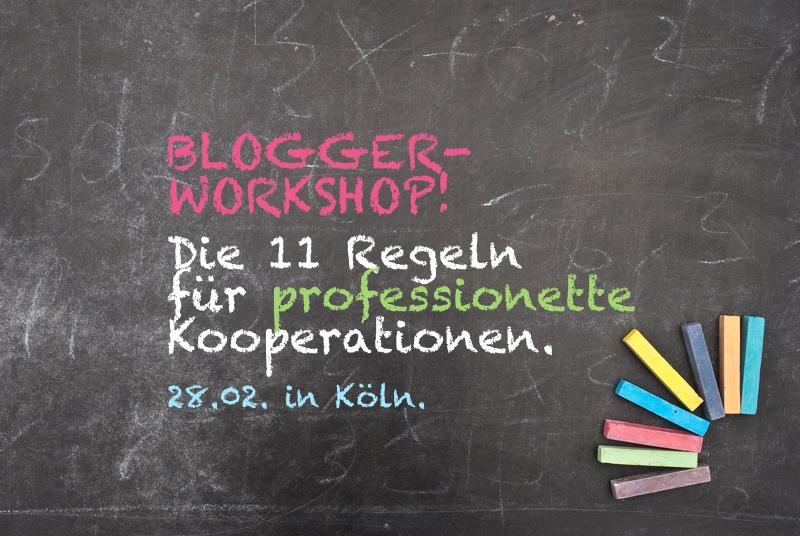 Blogger-Workshop: DIe 11 Regeln für professionette Kooperationen |GourmetGuerilla.de