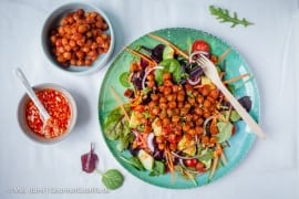 Rauchiger Ponderosa BBQ-Salat. Da werden selbst Nicht-Veganer schwach #vegan |GourmetGuerilla.de
