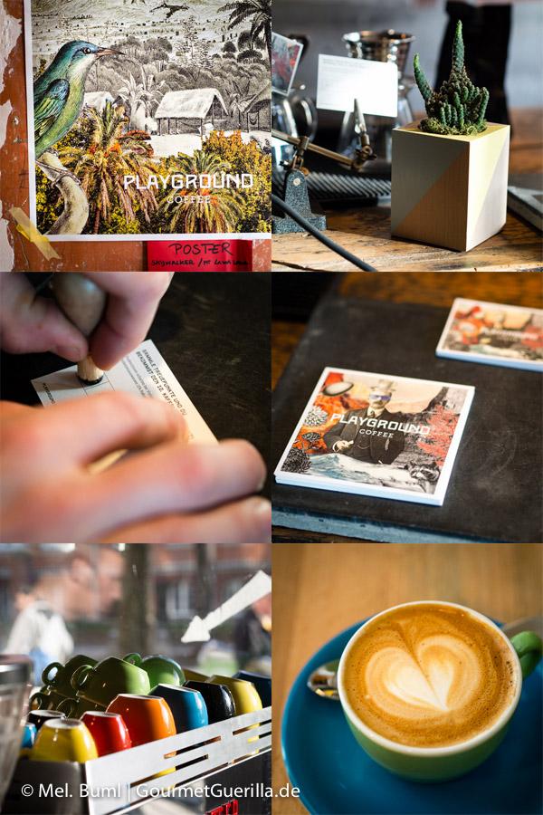 Impressionen Kaffee Playground im Ottos Burger Grindelhof Hamburg |GourmetGuerilla.de