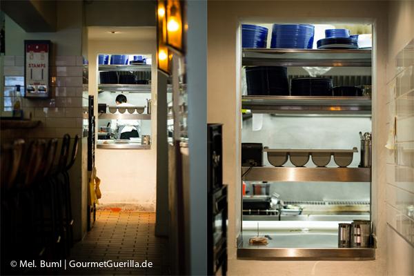 Küche im Ottos Burger Grindelhof Hamburg |GourmetGuerilla.de