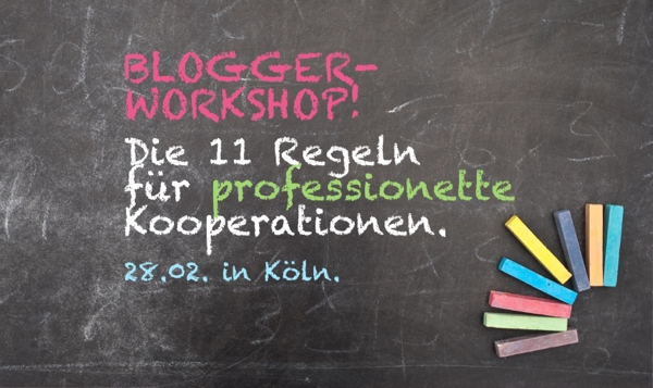 Blogger-Workhop in Köln mit GourmetGuerilla