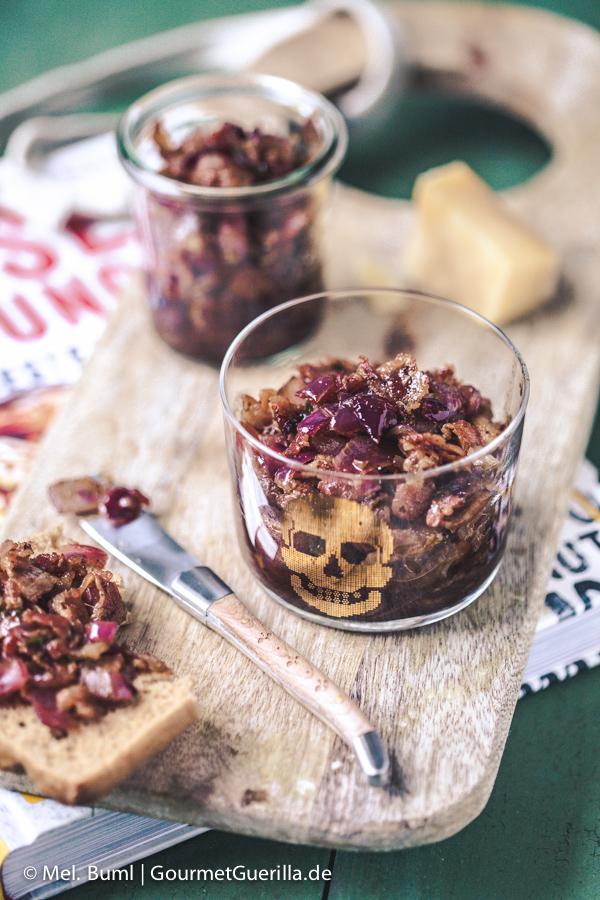 Boozy Bourbon Bacon Jam | GourmetGuerilla.de