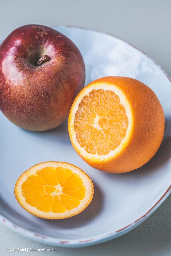 Apfel und Orange |GourmetGuerilla.de