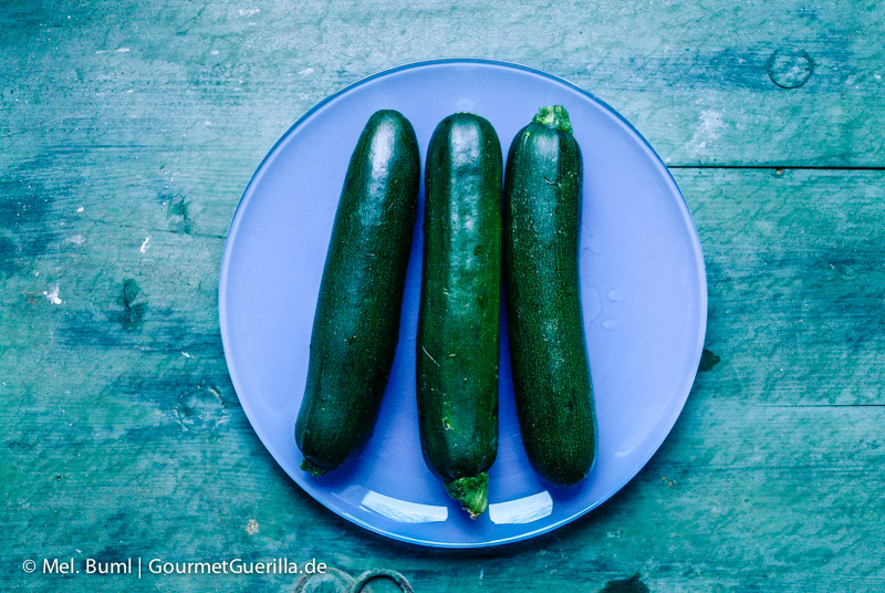 Zucchini für Low Carb Zucchini-Quark-Lasagne |GourmetGuerilla.de