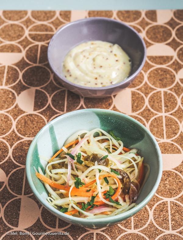 Räuchermayo und Krautsalat |GourmetGuerilla.de
