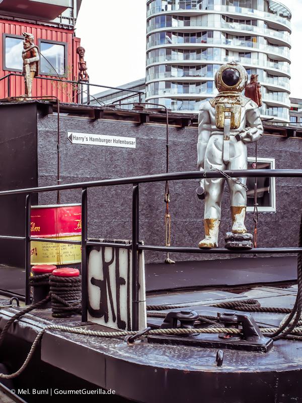 VisualFriday Hamburg Hafencity Harrys Hafenbasar |GourmetGuerilla.de