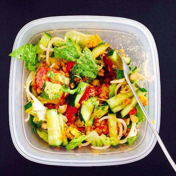 Mittags-Salat to go / GourmetGuerilla.de