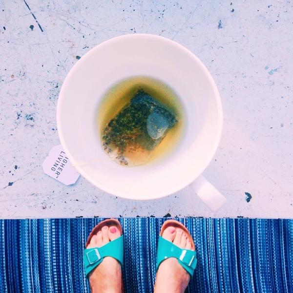 Wasser Challenge Tag 1: Tee anstatt Kaffee |GourmetGuerilla.de