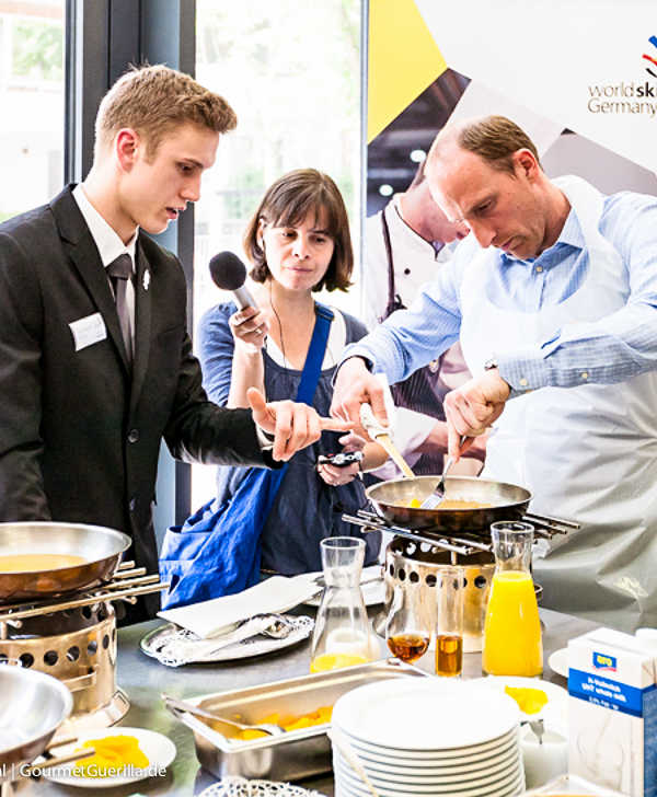 WorldSkills Germany Gastronomie in Hamburg | GourmetGuerilla.de