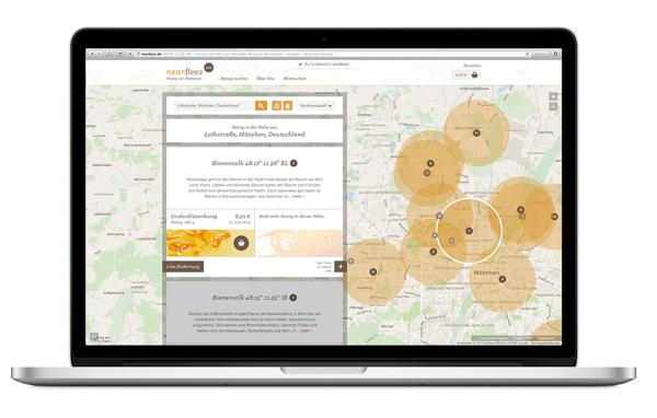 nearBees regionalen Honig online bestellen |GourmetGuerilla.de