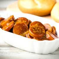Currywurst Foto von shutterstock 292847372