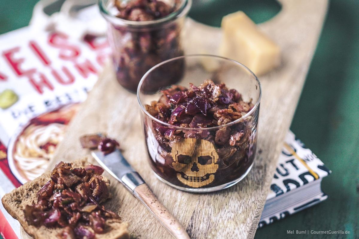 Boozy Bourbon Bacon Jam |GourmetGuerilla.de