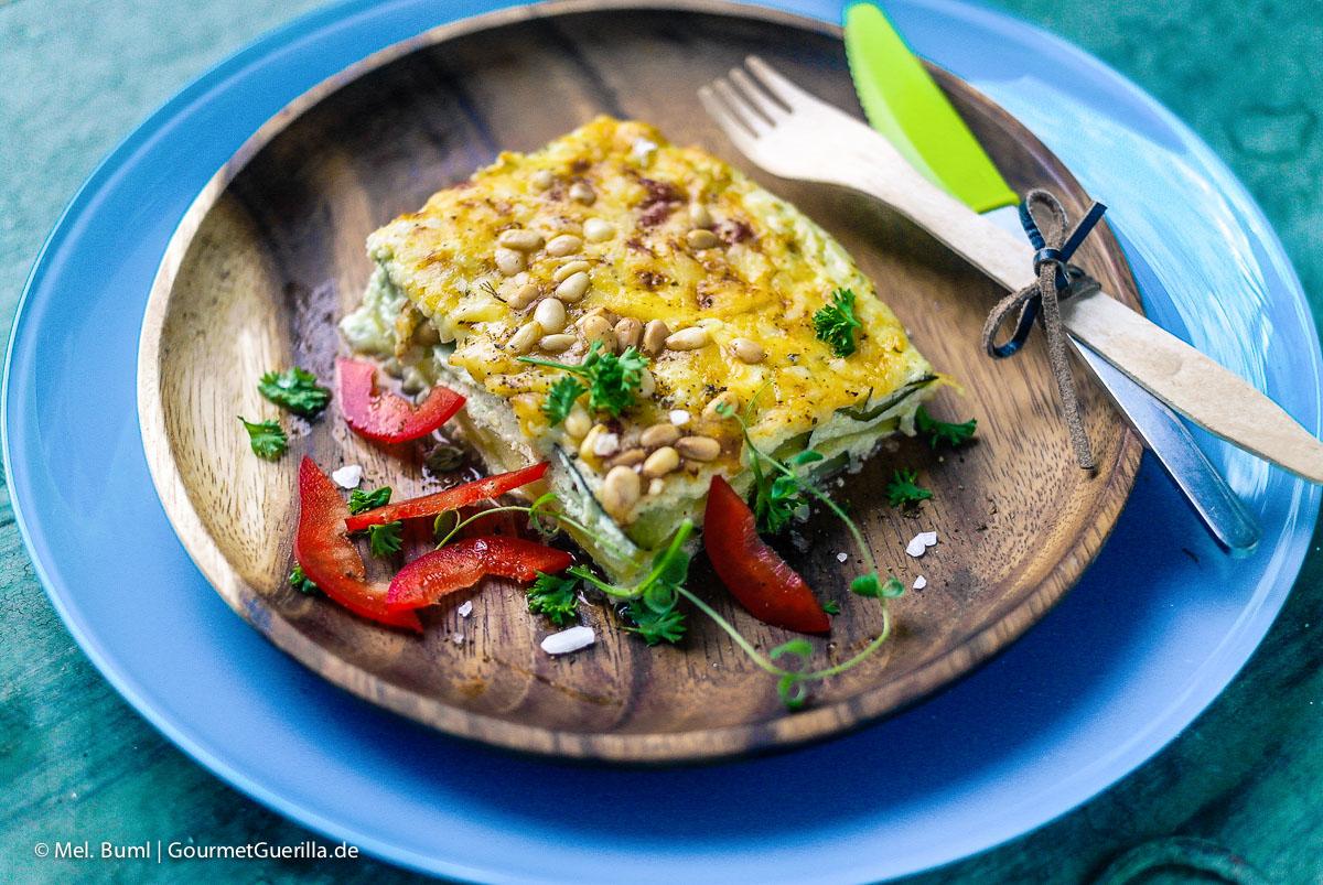 Low Carb Zucchini-Quark-Lasagne |GourmetGuerilla.de