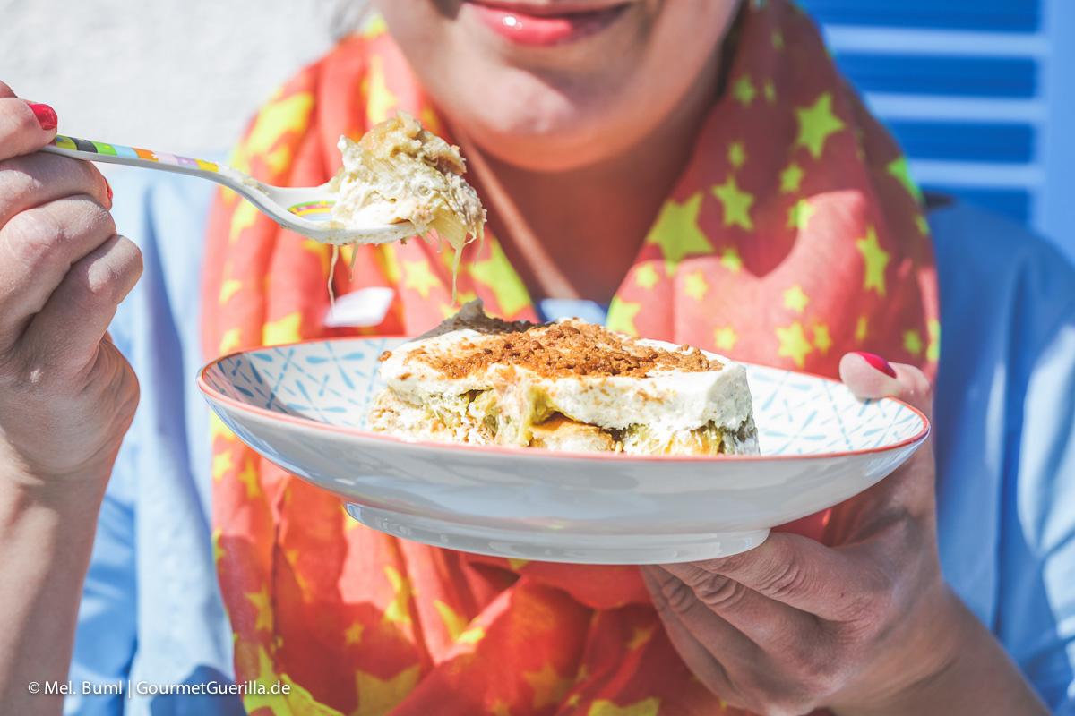 Gretas umwerfendes Rhabarber-Tiramisu mit Eierlikör |GourmetGuerilla.de