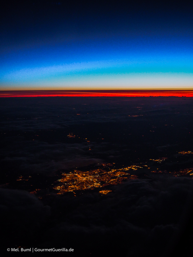 Kanada Flug über den Wolken |GourmetGuerilla.de