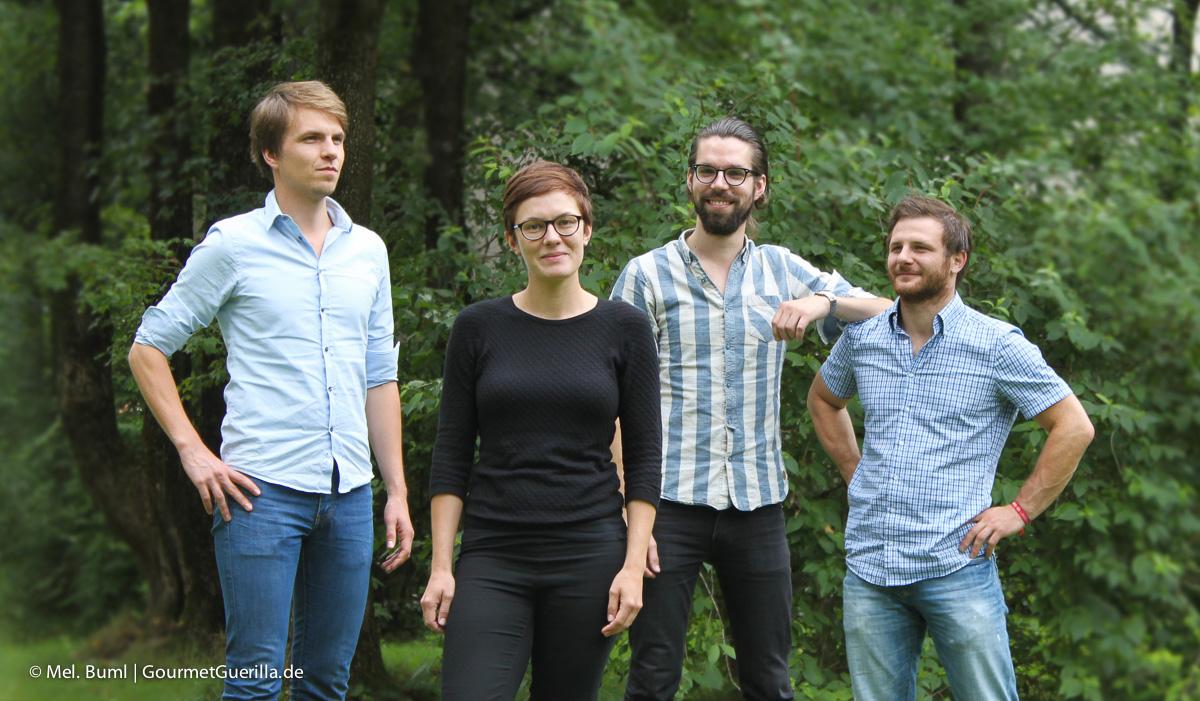 Die Gründer von NearBees  GourmetGuerilla.de