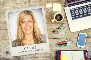 Kathi Corporate Bloggerin Knackfrisch