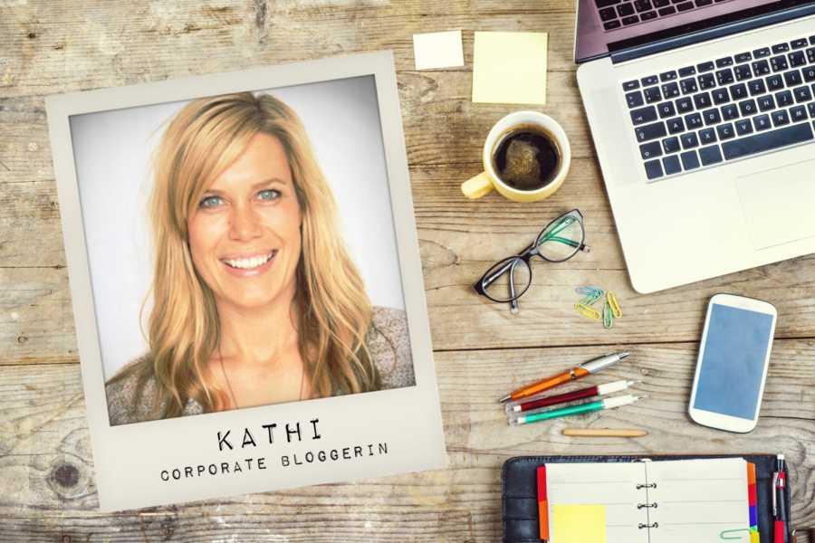 Kathi Corporate Bloggerin Knackfrisch