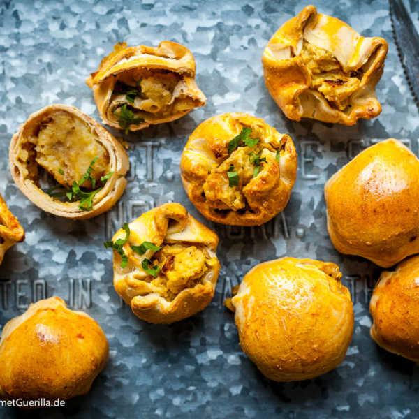 Knich Juüdische Pasteten mit Kartoffelfüllung |GourmetGuerilla.de