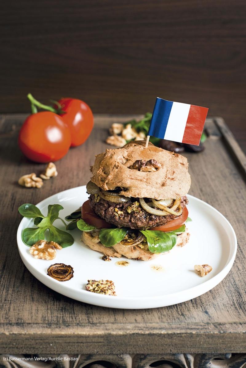 burger francais aus Franzoesisch Kochen mit Aurelie |GourmetGuerilla.de