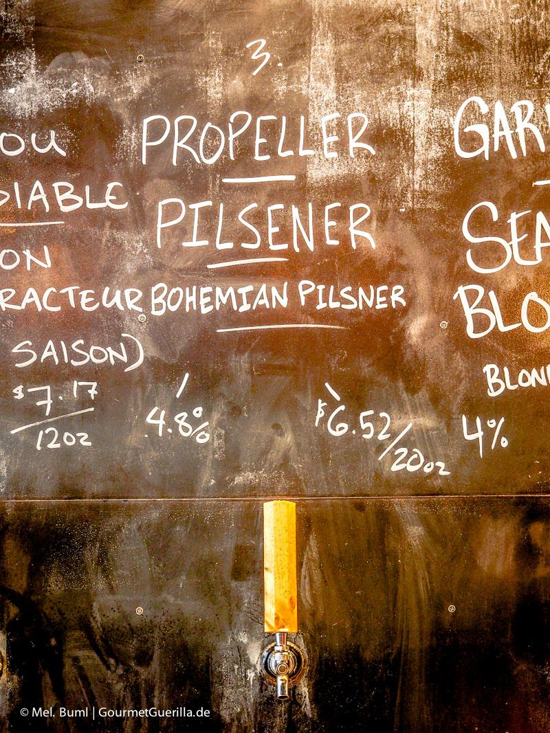 Biersorten Stillwell Craft Beer Bar in Halifax Kanada |GourmetGuerilla.de