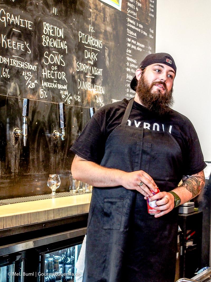 Barmate Stillwell Craft Beer Bar in Halifax Kanada |GourmetGuerilla.de