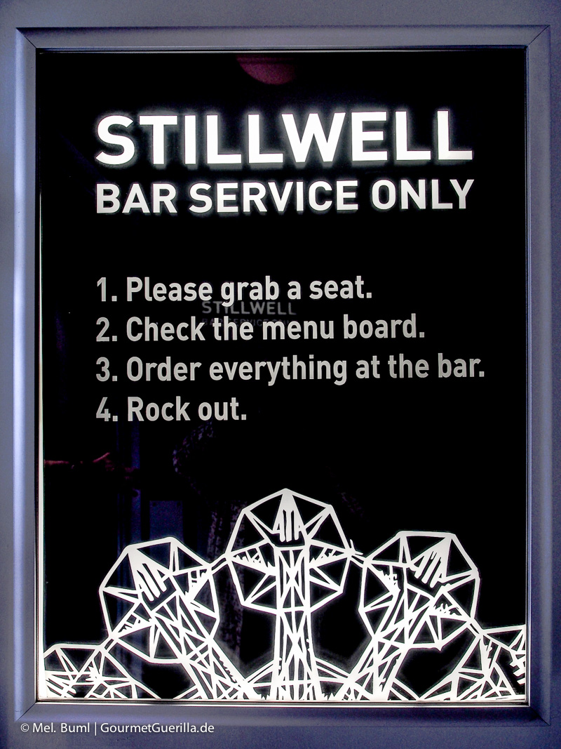 Barregeln Stillwell Craft Beer Bar in Halifax Kanada | GourmetGuerilla.de
