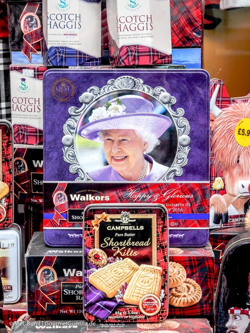 Kurz-Tripp Edinburgh High Street Souvenirs|GourmetGuerilla.de