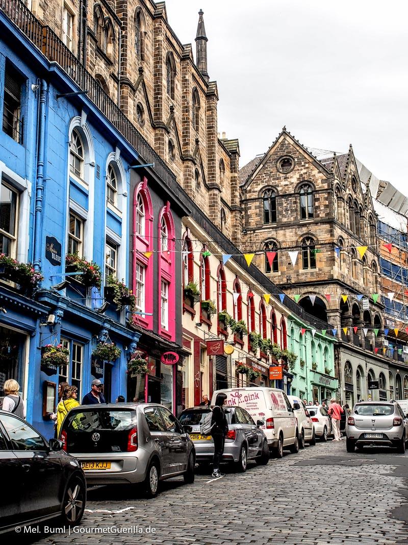 Kurz-Tripp Edinburgh Victoria Street|GourmetGuerilla.de